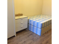 034K-FULHAM-MODERN DOUBLE STUDIO FLAT, FURNISHED, BILLS INCLUDED EXCEPT ELECTRICITY - £210 WEEK