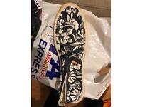 Superdry slip on summer shoes size 12