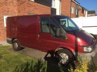 ford transit 280 swb 2.0 diesel 2005 05 mot has now expired drives very well 100% reliable