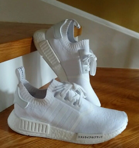 Japanese Triple White NMD R1 PK (Size 9)