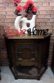 Beautiful Old Charm Cabinet TV Unit Oak