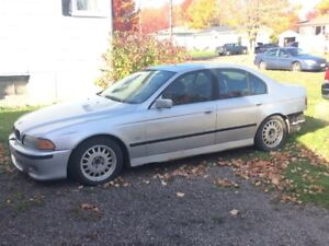 Parting out my 2000 BMW 540i 6spd M-Pack