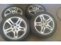 "Subaru wrx 17"" alloy wheels"