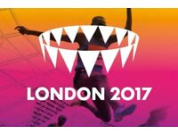 Tickets for IAAF World Championships in Athletics, 6th AUG , London 2017