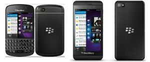 Bell, Virgin Blackberry Q10, Unlocked Blackberry Z10, Rogers Z10