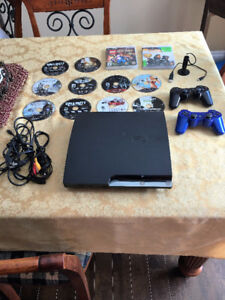 PS3 Console Package and Games