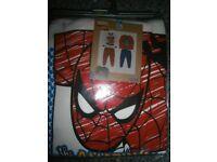 Boys Next Spiderman Snuggle Pyjamas Brand New 2-3years