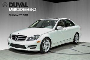 2014 Mercedes-Benz C-Class C300 4MATIC/ BAS KILOMETRAGE+GPS+CAME