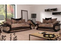 NEW Sheldon 3&2 sofas with #FREE FOOTSTOOL