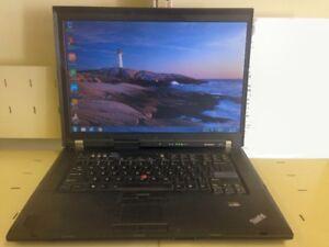 Laptop Lenovo IBM intel Core2 Ordinateur Portable Win7