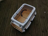 Two-Door Top-Load Pet Kennel VGC