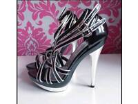 New lipsy high heels size 5 38 shoes women wedding party club evening