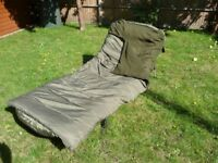 Fishing Bed Chair excellent condition with Trakker Big Snooze plus sleep system