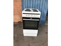 AMICA 508EE1W 50CM ELECTRIC COOKER WHITE A ENERGY RATED.