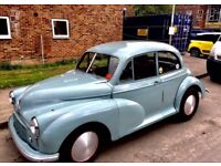 Morris minor 1953 split screen