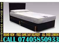 BRAND NEW Double Single King Size Dlvan Bed WITH MATTRESS. Raleigh