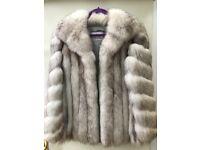 Womens Fox Furr Coat