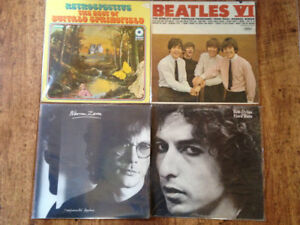 For Sale 200 Records Beatles Dylan Buffalo Springfield