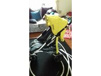 koochi three wheel pram
