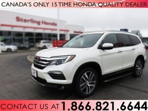 2016 Honda Pilot TOURING | AWD | 1.99% FINANCE | HONDA WARRANTY