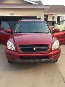 2005 Honda Pilot for sale mint condition!