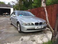 BMW 525 diesel estate car