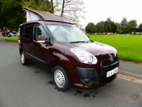 2012 61'reg Fiat Doblo 1.4 Active Campervan**Full Side Conversion**14,000 miles*