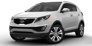 2012 Kia Sportage EX LEATHER Heated Seats,  Panoramic Roof,  Bac