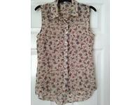 Ladies new look shirt size 10