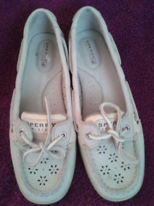 SPERRY LEATHER BOAT SHOES