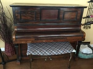Emil Pauer 1800's player piano (converted)