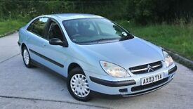 CITROEN C5 1.8, FULL SERVICE HISTORY, RECENTLY SERVICED, NEW TYRES,LONG MOT,GREAT CONDITION