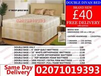 BRAND NEW SMALL DOUBLE DIVAN BED WITH MATTRESS Wichita
