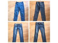 WOMENS SKINNY JEANS BUNDLE. SIZE 6. NEWLOOK & PRIMARK