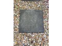 40 square large paving slabs.