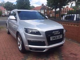 Audi Q7 3.0 TDI S Line Tiptronic Quattro 5dr IMMACULATE CONDITION BOTH INSIDE/OUT, PART EX WELCOME