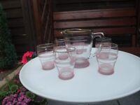 Vintage Pink Lemonade Set, £15 ono, excellent condition