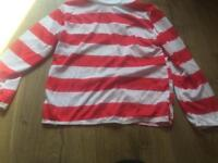 Where's Wally Dress Up Top - Small