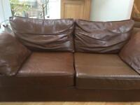 Next Real Leather Sofa