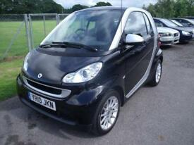 SMART FORTWO PASSION CDI 54 AUTO - FSH -ZERO ROAD TAX, Black, Diesel, 2010