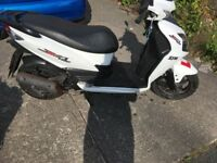 SYM Jet 4 125cc moped for sale