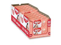 Box of 20 pks of Huggies Soft Skin Baby Wipes. With added Vitamin E & soothing Shea Butter