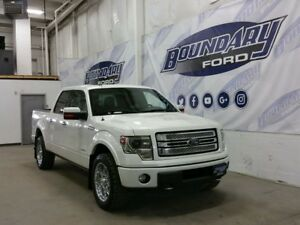 2013 Ford F-150 Limited W/ Leather, Sunroof, Heated Seats