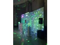 Photo booth hire and mobile disco