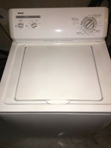 Kenmore washer -can deliver
