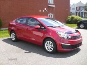 2016 Kia Rio LX+ AUT,AIR, CRUZE Berline etc...
