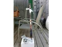 REDUCED TO £80 Free standing bath and shower taps