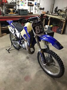 ***REDUCED*** yz 150 with 0 hours on brand new big bore