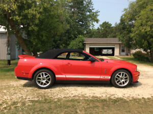 2007 SHELBY GT 500 CONVERTIBLE - VERY LOW KM'S