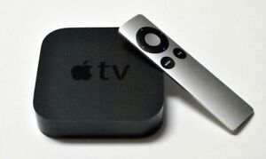 Apple TV + Remote and HDMI cable